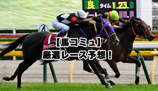 【馬コミュ】12月21日厳選レース予想!